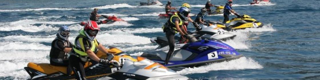 Competició motos aquètiques