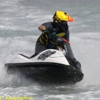 Nil Bonich, guanyador de la regata a la classe F4.